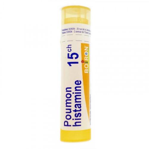 POUMON HISTAMINE BOIRON 15CH tube-granules