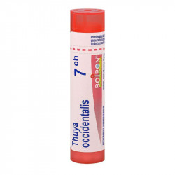 THUYA OCCIDENTALIS BOIRON 7CH tube-granules