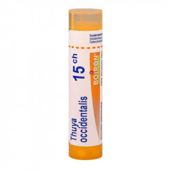 THUYA OCCIDENTALIS BOIRON 15CH tube-granules