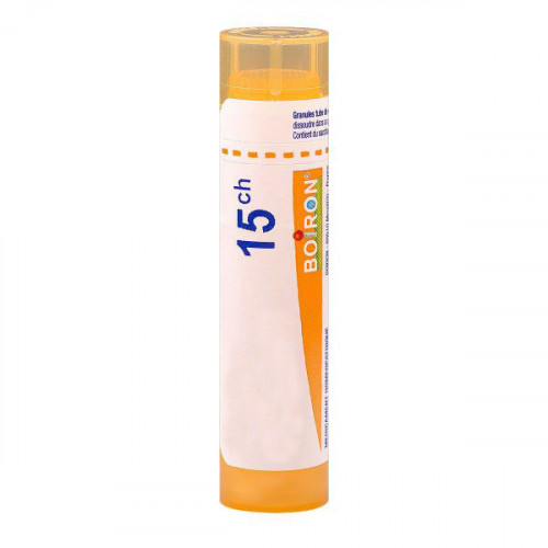 NATRUM SULFURICUM BOIRON 15CH tube-granules