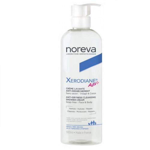 Noreva Xerodiane Plus Crème Lavante Visage et Corps 500 ml