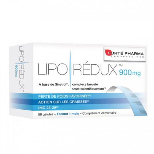 Forté Pharma Liporédux 900mg 56 Gélules