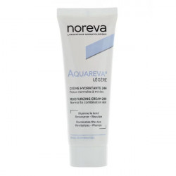 Noreva Aquareva Crème Hydratante Texture Légère 24H 40 ml
