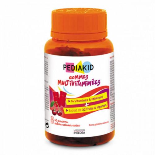 Pediakid Gummies Multivitaminés 60 Gommes