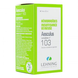 Aesculus Complexe n°103 Lehning solution buvable 30 ml