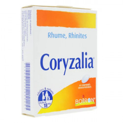Coryzalia Boiron 40 comprimés orodispersibles