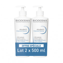 Bioderma Atoderm Intensive Baume Ultra-Apaisant Lot de 2 x 500 ml