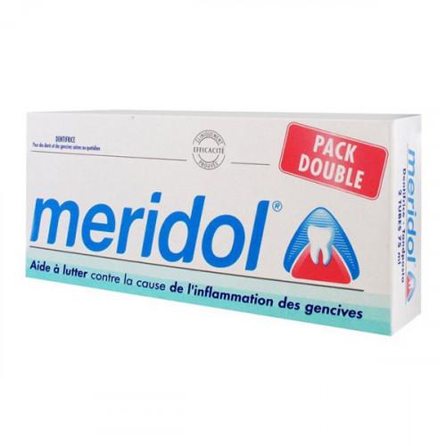 Méridol Dentifrice Lot de 2 x 75 ml