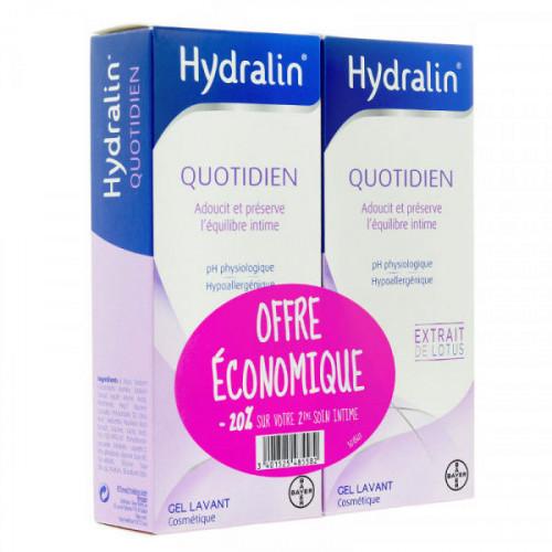 Hydralin Quotidien gel lavant 200 ml x 2