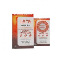 Léro Prémunil Bon Fonctionnement du Système Immunitaire 90 Capsules + 30 Capsules Offertes