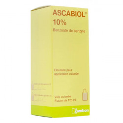 Ascabiol 10% émulsion 125 ml