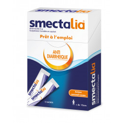 Smectalia caramel cacao suspension buvable 12 sachets
