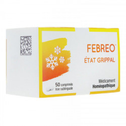 Febreo Etat grippal 50 comprimés