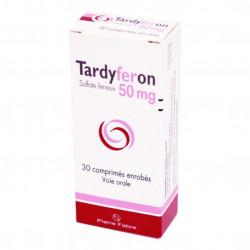 TARDYFERON 50 mg, comprimé pelliculé, boîte de 30