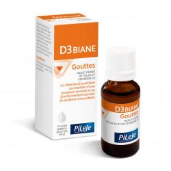 Pileje D3 Biane gouttes 20 ml