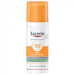 EUCERIN SUN PROTECTION OIL CONTROL GEL-CRÈME SPF50+ 50 ML