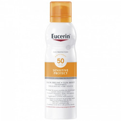 EUCERIN SUN PROTECTION SENSITIVE PROTECT BRUME TRANSPARENTE SPRAY SPF50 200 ML