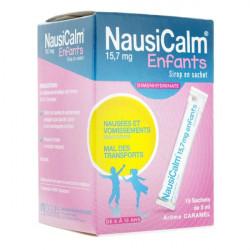 Nausicalm sirop en sachet 15 doses de 5 ml