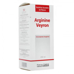 Arginine Veyron solution buvable 250 ml