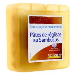 Pâtes de réglisse au Sambucus Boiron 70 g
