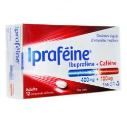 Ipraféine 400/100mg 12 comprimés