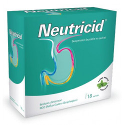 NEUTRICID, suspension buvable en sachet, sachets boîte de 18