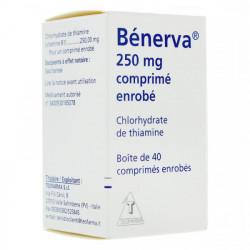 BENERVA 250 mg, 40 comprimés enrobés
