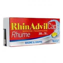 RhinAdvil Caps Rhume 16 capsules molles