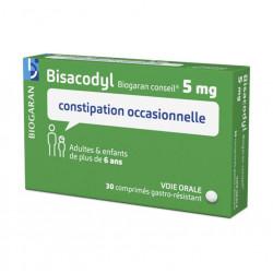 BISACODYL ARROW CONSEIL 5 mg, comprimé gastro-résistant, boîte de 30