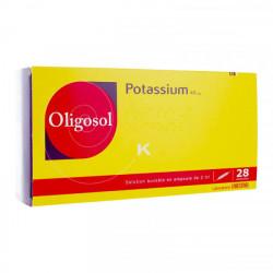 Oligosol potassium 28 ampoules