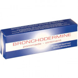 BRONCHODERMINE, pommade, tube (+ dispositif doseur) de 60 g