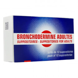 Bronchodermine Adultes 10 suppositoires
