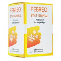 Febreo Etat grippal 25 comprimés