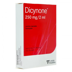 Dicynone 250 mg / 2 ml solution injectable 6 ampoules
