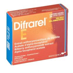 Difrarel E 24 comprimés