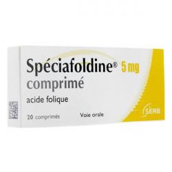 Spéciafoldine 5 mg 20 comprimés