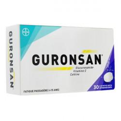Guronsan 30 comprimés effervescents