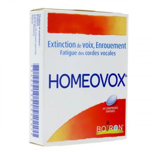 Homeovox Boiron 60 comprimés
