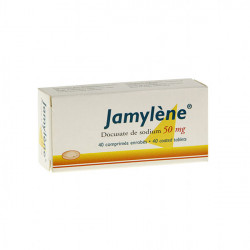 JAMYLENE 50 mg, 40 comprimés enrobés