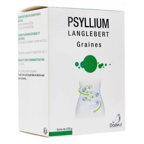 Psyllium Langlebert graines Sachet de 250 g