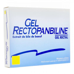 Rectopanbiline gel rectal 6 unidoses
