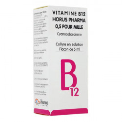 Vitamine B12 Horus collyre 5 ml