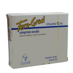 FERO-GRAD VITAMINE C 500, comprimé enrobé