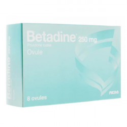 Betadine 250 mg 8 ovules