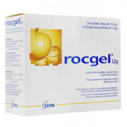 Rocgel suspension buvable 24 sachets