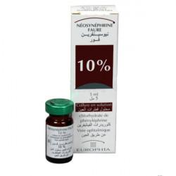 NEOSYNEPHRINE 10 % FAURE, collyre en solution