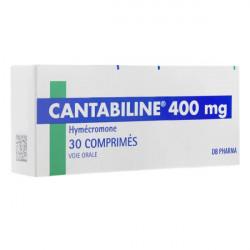 Cantabiline 400mg 30 comprimés