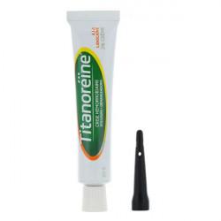 Titanoréïne lidocaïne crème rectale 20 g