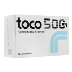 Toco 500mg 30 capsules