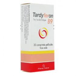 TARDYFERON B9, 30 comprimés pelliculés